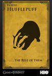 House Hufflepuff - Game of Thrones