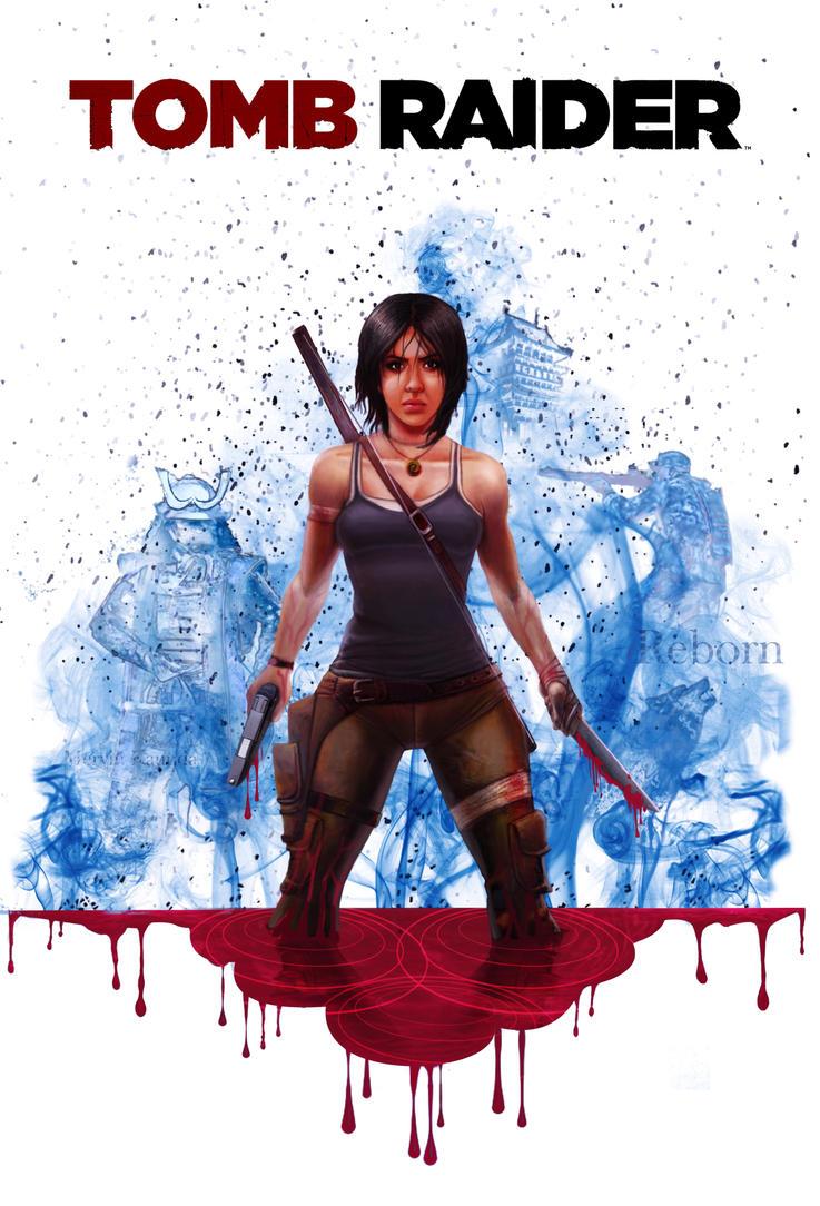 Lady Croft by JJwinters