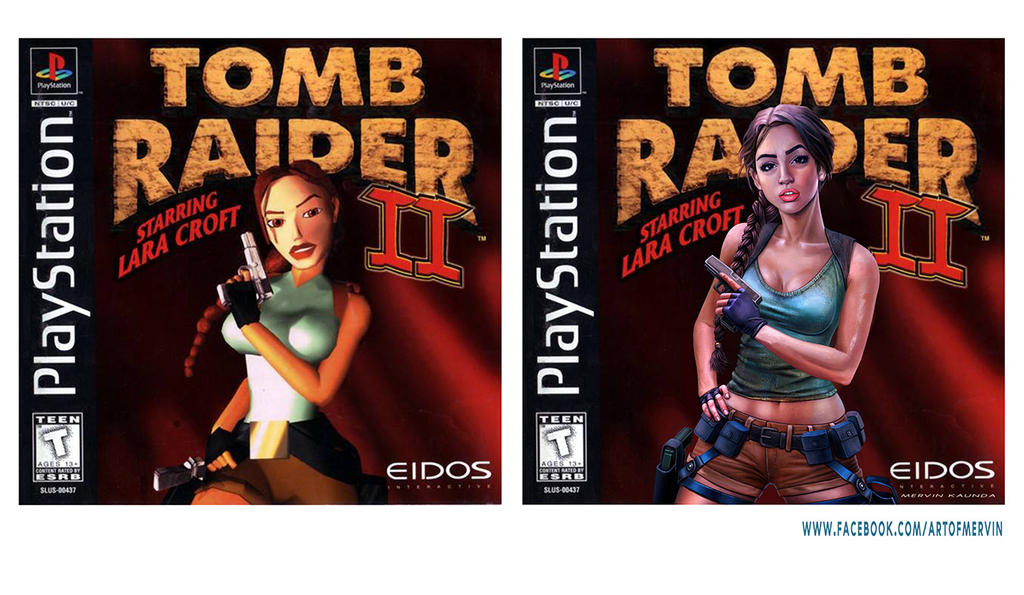 Tomb Raider 2 Cover Remake By Jjwinters On Deviantart
