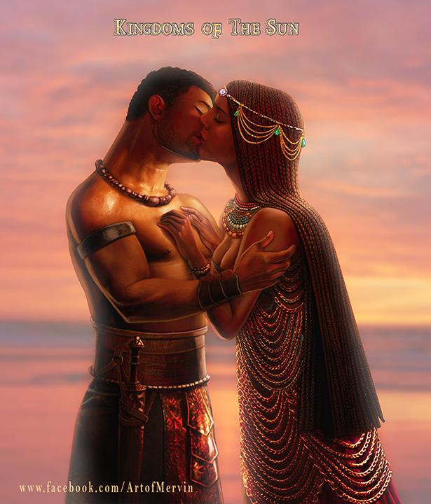 Benja and Akema by JJwinters