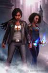 Adalia and Jamari Moore