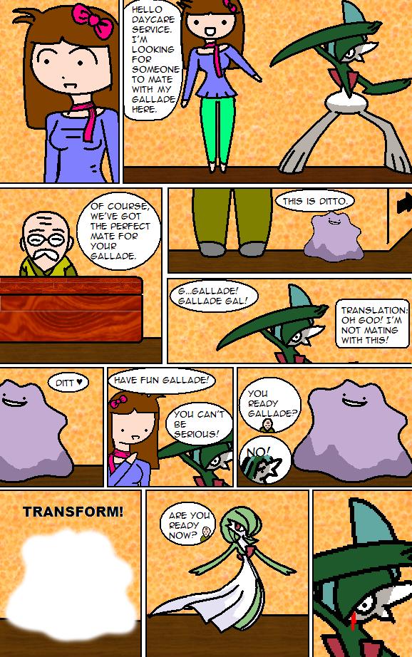 Pokemon Comic: Day Care by RaspberryChan
