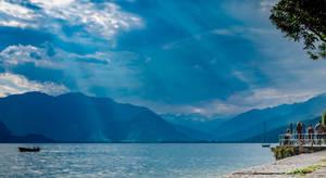 Sky on Maggiore Lake - Pallanza