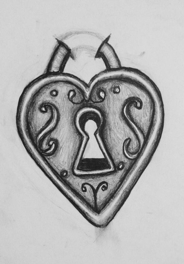 heart locket tattoo design by bluefishrun on deviantart. Black Bedroom Furniture Sets. Home Design Ideas