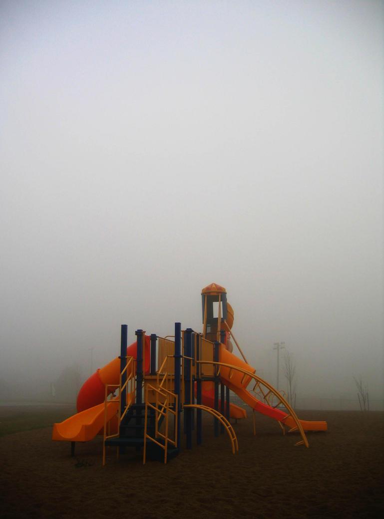 Ghost Playground by bluefishrun