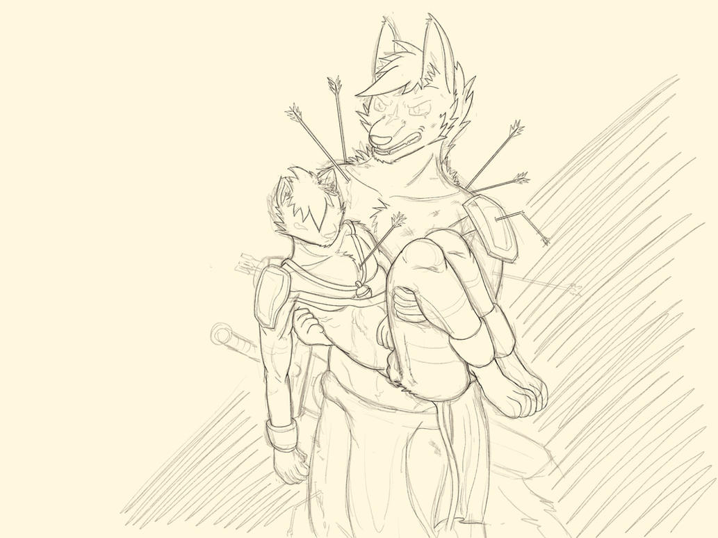 Daily sketch by NightfuryFizz