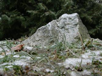 Winter 15 - Mountain Rock by Gwathiell