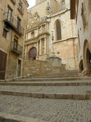 Spain - M02 To the church by Gwathiell