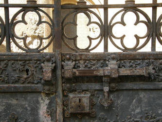 Spain - T6 Gate detail by Gwathiell