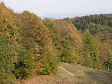 Autumn08 14 Hill by Gwathiell