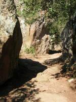 Spain Sa22 Rock path by Gwathiell