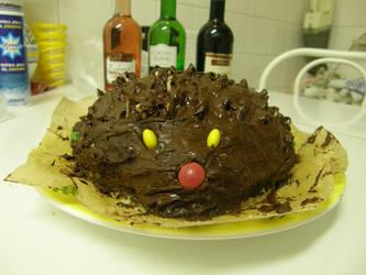 Hedgehog cake 1 by Gwathiell