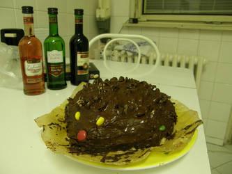 Hedgehog cake 2 by Gwathiell