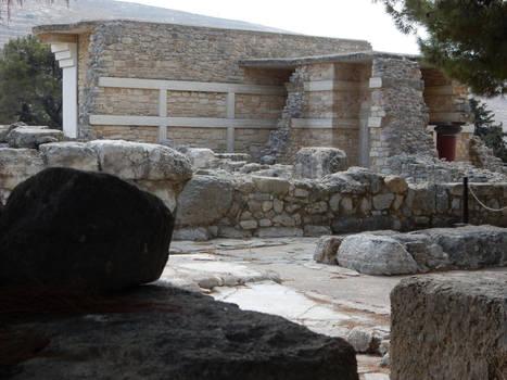 Crete - Knosos - Ruins