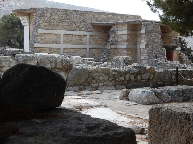 Crete - Knosos - Ruins by Gwathiell