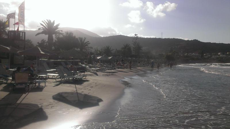 Crete - Beach by Gwathiell