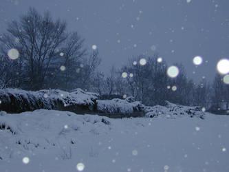 Winter Scene 01 by Gwathiell