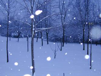 Winter Scene 02 by Gwathiell