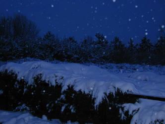 Winter Scene 03 by Gwathiell
