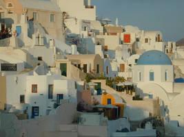Santorini - Greece by Gwathiell