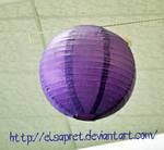 Wedding Latern purple