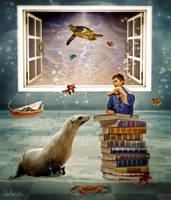 Dreaming by Elsapret