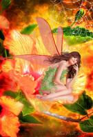 Hibiscus Tears by Elsapret