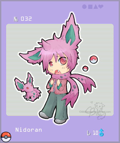 human pokemon nidoran f - photo #9