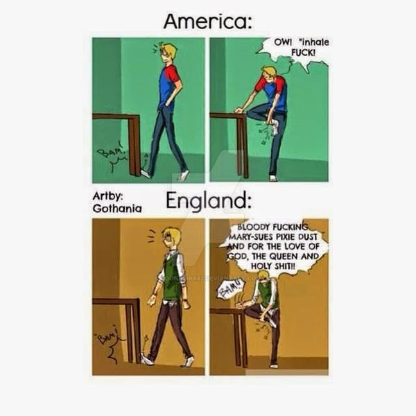 Dating in england vs america
