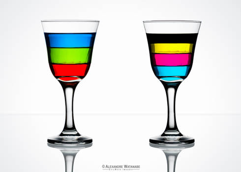 RGB CMYK Drinks
