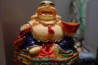 Buddha Upclose by joefusion