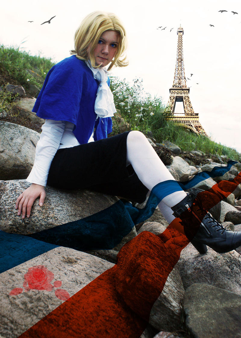 A True Frenchman by SandLionCurse