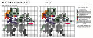 Wolf Link and Midna Pattern