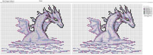 Mist Dragon Pattern