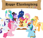 Happy Thanksgiving from BronyState
