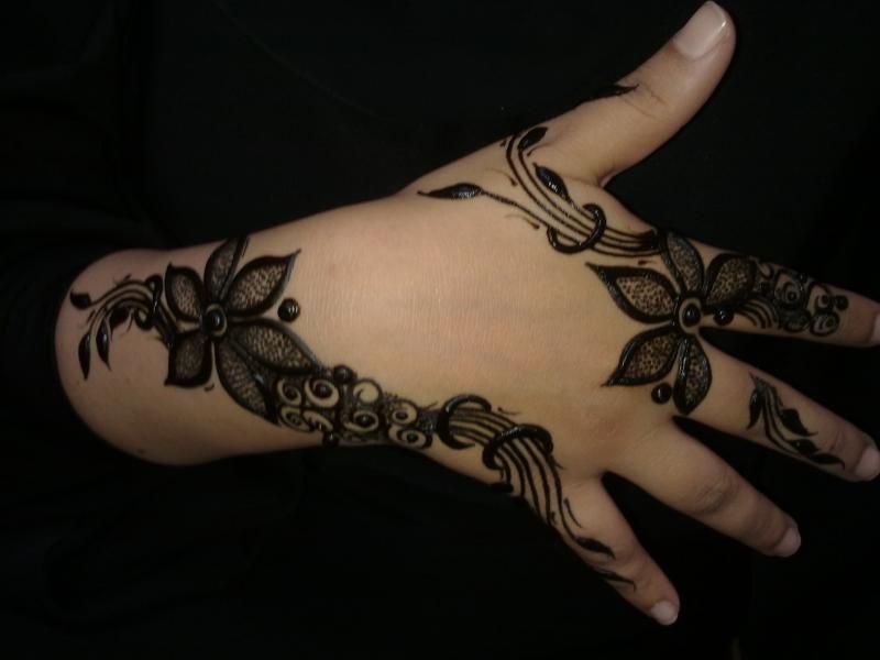 Mehndi Designs For Childrens Leg : Henna mehndi designs for hand feet arabic beginners kids girl