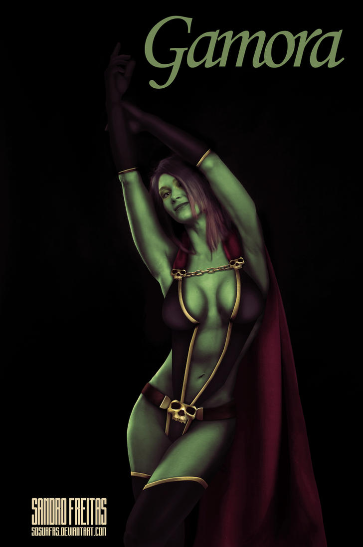 Gamora (Test with textures) by Sdsurfrs
