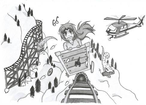 [COMMISSION]  Insanity Coaster