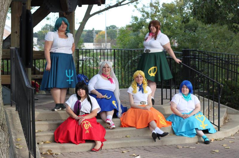 Senshi Ladies by shadowhawk225