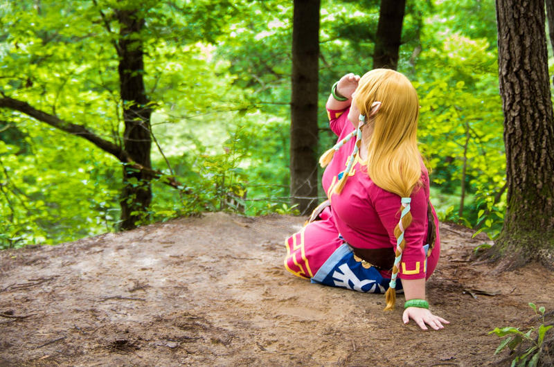 The Fall into Faron Woods by Azure-Rose-Cosplay