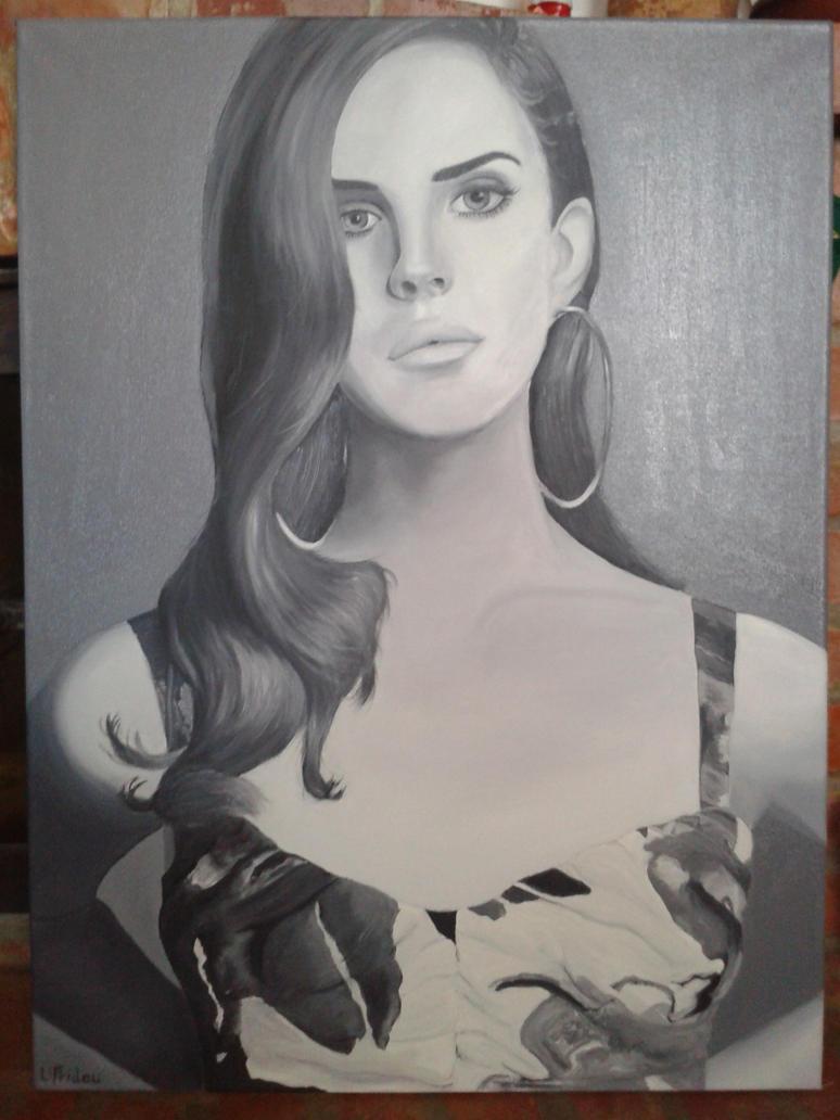 Lana Del Rey by AngelDiabolo on deviantART