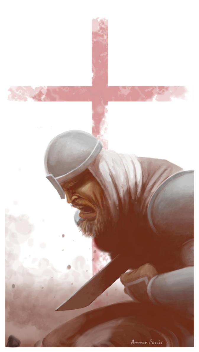 Death of a Crusader by lifebytes