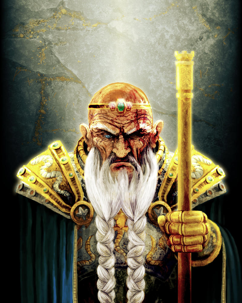 Dwarven King by lifebytes