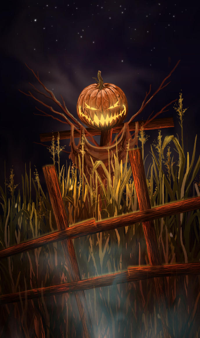 Jack-o'-lantern by lifebytes