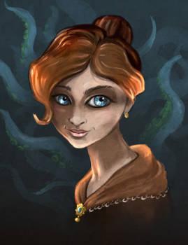 Cthulhu Girl Portrait