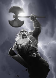Dwarf with a Axe