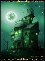 Haunted House by lifebytes