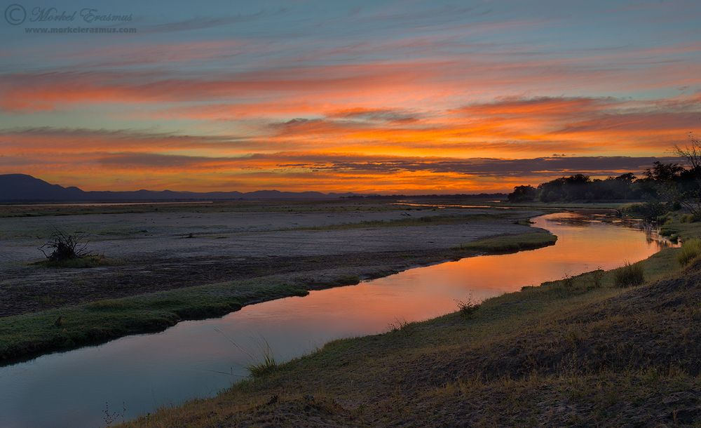 Fire on the River by MorkelErasmus