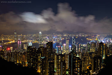 Hong Kong Nights by MorkelErasmus