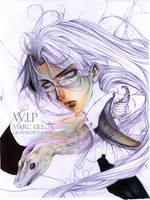 Spirit of a Snake .WIP. by Giname